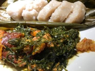 Fumbwa- Congolese Wild Spinach Stew