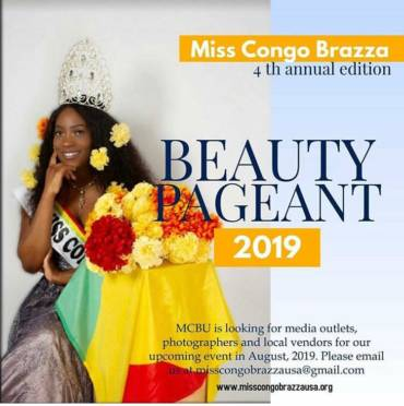 Bantu Tastes Sponsor of Miss Congo Brazza USA 2019